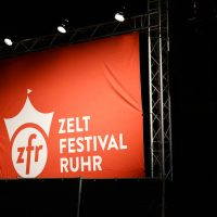 Sebastian Fitzek auf dem Zeltfestival Ruhr